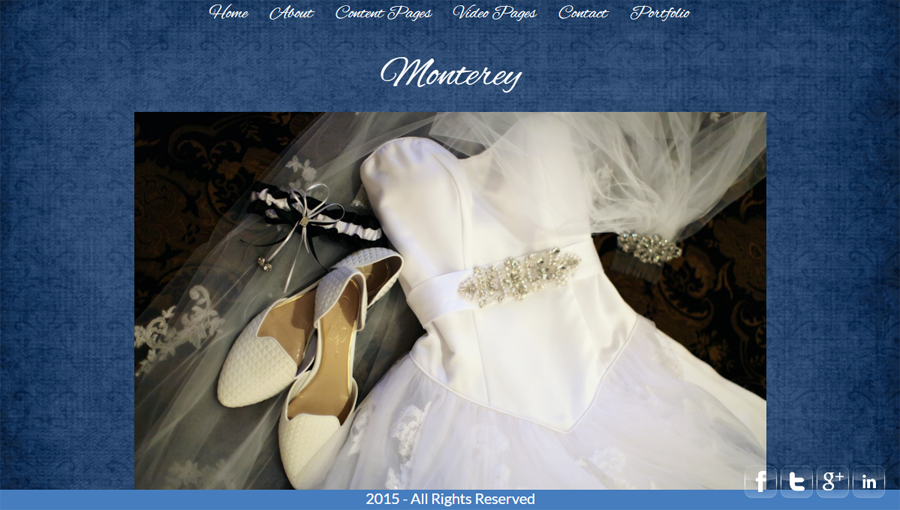 Photography template Monterey